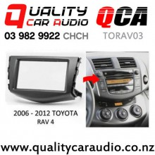 QCA-TORAV03 Toyota RAV4 2006 - 2012 Double Din Facia kits with Easy Finance