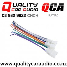 QCA-TOY02 Stereo harness for Toyota with Easy Finance