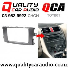 QCA-TOYB01 Double Din Stereo Facial Kit for Toyota Corolla / Blade from 2006 to 2012 (12cm height) with Easy Finance