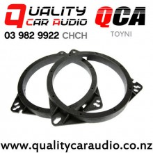 QCA-TOYNI Toyota & Nissan Speaker Adapters suit 165mm after market Speakers (Pair) with Easy Finance