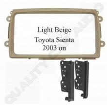Toyota Sienta 2003 on (Light Beige) Fascia