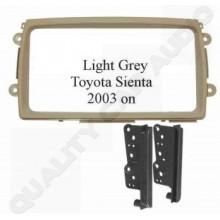 Toyota Sienta 2003 on (Light Grey) Fascia