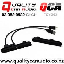 QCA-TOYSI02 200mm Side Trim with USB and AUX (pair) with Easy Finance
