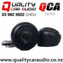 QCA-TWT01 Universal 150W (40W RMS) Car Mini Dome Tweeter (pair) with Easy Finance
