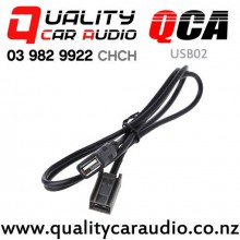 QCA-USB02 USB 2.0 Extension Cable for Honda & Mitsubishi 2008 onward (90 cm) with Easy Finance