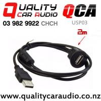 QCA-USP03 USB Flush Mount Panel (2m) with Easy Finance