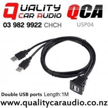 QCA-USP04 USB 2.0 Flush Mount Panel (1m) with Easy Finance