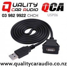 QCA-USP06 USB 2.0 Flush Mount Extension Cable 1m with Easy Finance