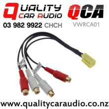 QCA-VWRCA01 4x RCA Line Out Adapter for Ford Volkswagen Audi Skoda with Easy Finance