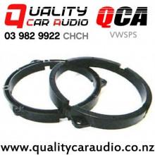 "QCA-VWSPS 6"" / 6.5"" VW OEM Plastic Speaker Thin Adapters (Pair)"