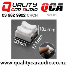 QCA-WC01 2 Channel Wire Quick Crimp Connector with Easy Finance