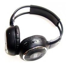 Mongoose QHP2 Wireless IR (infrared) dual channel stereo headphones.