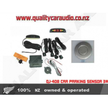 QJ-408 CAR PARKING SENSOR 3# Silver - Easy LayBy