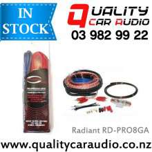 Radiant RD-PRO 8 Gauge 1500W Car Amplifier Wiring Installation Kits with Easy Layby