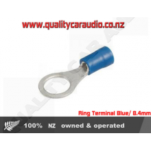 Ring Terminal Blue 8.4mm 100Pack