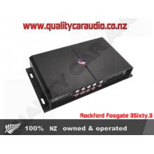 Rockford Fosgate 3Sixty.3 signal processor - Easy LayBy