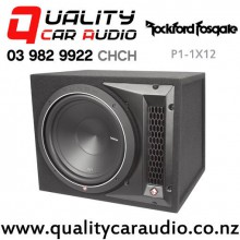 "Rockford Fosgate P1-1X12 12"" 500W (250W RMS) 4 ohm Car Subwoofer Enclosure with Easy Finance"