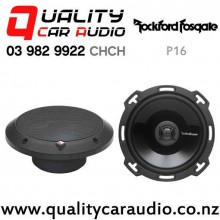 """Rockford Fosgate P16 6"""" 220W (110W RMS) 2 Way Power Series Coaxial Car Speakers (pair) with Easy Finance"""