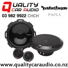 """RockfordFosgate P1675-S 6.75"""" 120W (60W RMS) 2 Way Component Car Speakers (Pair) with Easy Finance"""