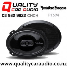 "Rockford Fosgate P1694 6x9"" 150W (75W RMS) 4 Way Coaxial Car Speakers (pair) with Easy Finance"