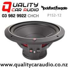 "Rockford Fosgate P1S2-12 12"" 500W (250W RMS) Single Voice Coil 2 ohms Car Subwoofer with Easy Finance"