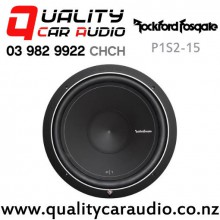"Rockford Fosgate P1S2-15 15"" 500W (250W RMS) Single 2 ohm Voice Coil Car Subwoofer with Easy Payments"