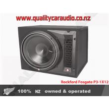 "Rockford Fosgate P3-1X12 12"" Dual 2 Ohm 1200W Subwoofer Enclosure"
