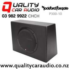 """Rockford Fosgate P300-10 PUNCH 10"""" (25CM) 300W RMS Active Car Subwoofer with Easy Finance"""