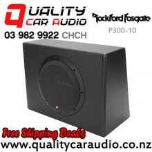 "Rockford Fosgate P300-10 PUNCH 10"" (25CM) 300W RMS Active Car Subwoofer with Easy Finance"