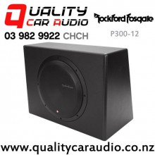 "Rockford Fosgate P300-12 12"" 300W Powered Subwoofer with Easy payments"