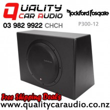 "Rockford Fosgate P300-12 12"" 300W Powered Subwoofer with Easy Finance"