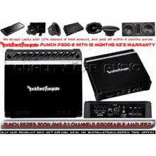 ROCKFORD FOSGATE P300-2 2/1 CHANNELS BRIDGE AMP