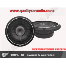 ROCKFORD FOSGATE P3SD2-10 2-Ohm 600W Shallow Subwoofer