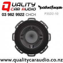 "Rockford Fosgate P3SD2-10 10"" 600W (300W RMS) Dual 2 ohm Voice Coil Shallow Car Subwoofer with Easy Finance"