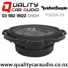 "Rockford Fosgate P3SD4-10 10"" 600W (300W RMS) Dual 4 ohm Voice Coil Car Subwoofer with Easy Finance"