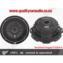 "Rockford Fosgate P3SD4-8 8"" Dual 4-Ohm 300W Punch Series Subwoofer"