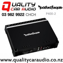 Rockford Fosgate P400-2 400W 2/1 Channels Mosfet Power Bridgeable Car Amplifier