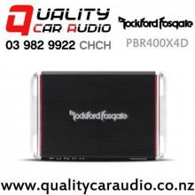 Rockford Fosgate PBR400X4D 400W 4 Channel Class D Full Range Car Amplifier with Easy Finance