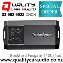 Rockford Fosgate T400x4ad 4 Channel Compact 100W RMS x 4 Car Amplifier with Easy LayBy