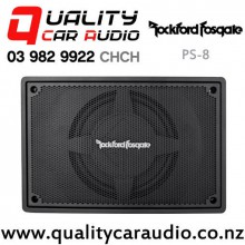 "Rockford Fosgate PS-8 8"" 150W RMS Class D Powered Shallow Mount Car Subwoofer with Easy Finance"