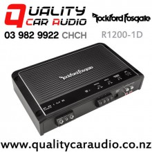 Rockford Fosgate R1200-1D 1200W RMS Monoblock Class-D Prime Series Car Amplifier with Easy Finance