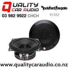 """Rockford Fosgate R14X2 4"""" 60W (30W RMS) 2 Way Coaxial Car Speakers (pair) with Easy Finance"""