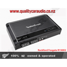 Rockford Fosgate R150X2 2-Channel 150W RMS Class-AB Prime Series Amplifier