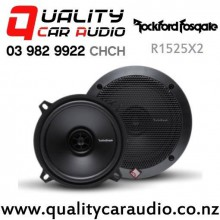 """Rockford Fosgate R1525X2 5.25"""" 80W (40W RMS) 2 Way Coaxial Car Speakers (pair) with Easy Finance"""