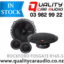"ROCKFORD FOSGATE R165-S 6.5"" 80W 2 WAY COMPONENT SPEAKERS with easy layby"