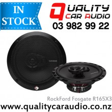 "Rockford Fosgate R165X3 6.5"" 3 Ways Fuall Range Car Speakers (Pair) with Easy Layby"