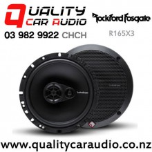 """Rockford Fosgate R165X3 6.5"""" 90W (45W RMS) 3 Ways Coaxial Car Speakers (pair) with Easy Finance"""