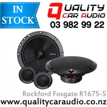 "Rockford Fosgate R1675-S 6.75"" 80W 2 Ways Component Speakers (Pair) with Easy Layby"