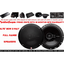 "Rockford Fosgate R1675X2 6.75"" (17cm) 90W 2 Ways Full Range Car Speakers (Pair) with Easy Layby"