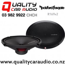 "Rockford Fosgate R169X2 6x9"" 130W (65W RMS) 2 Way Coaxial Car Speakers (pair) with Easy Finance"